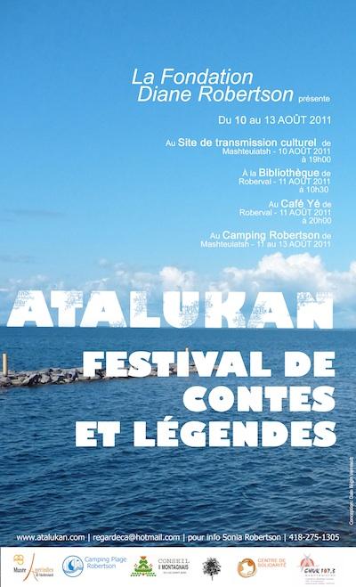 Festival de contes et légendes Atalukan 2011