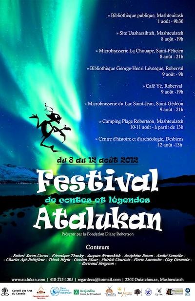 Festival de contes et légendes Atalukan 2012